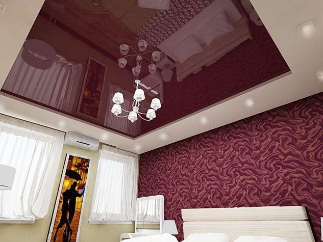 правило каким цветом сделать натяжной потолок в спальне фото ответ