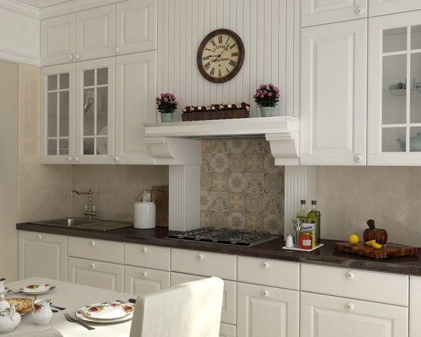Кухня мария белого цвета
