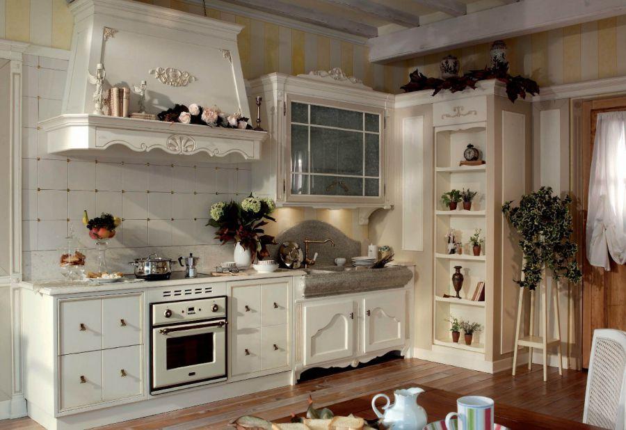 дизайн интерьеров для кухни в стиле прованс элементы прованса в