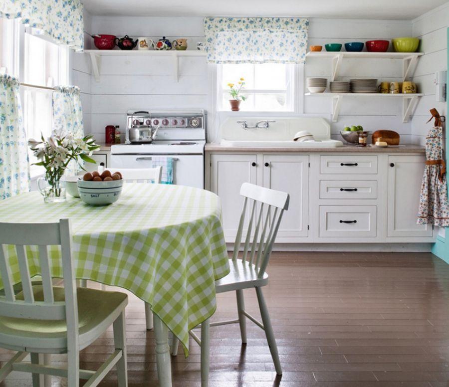 дизайн интерьера небольшой кухни в стиле прованс идеи прованс
